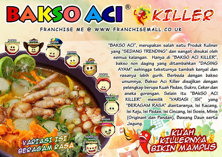 Franchise Bakso Aci Killer