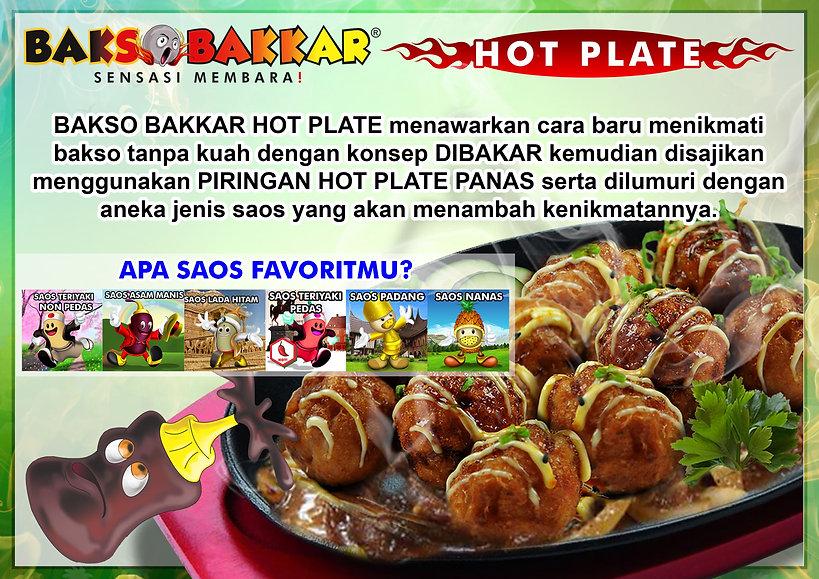 Bakso Bakar Hotplate