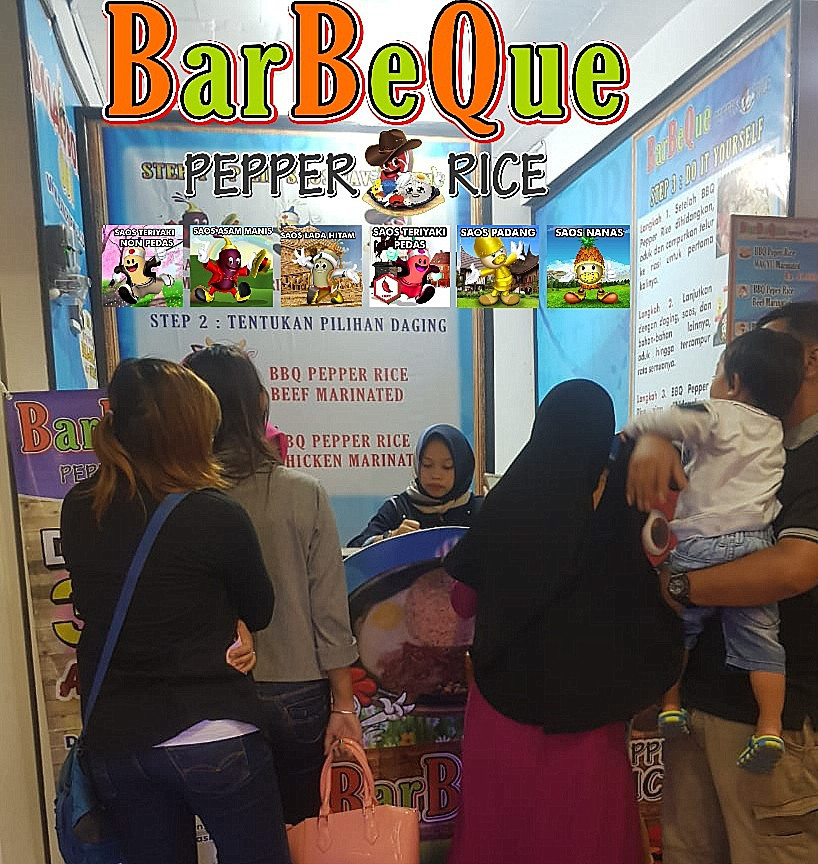 Peluang Usaha BBQ Pepper Rice