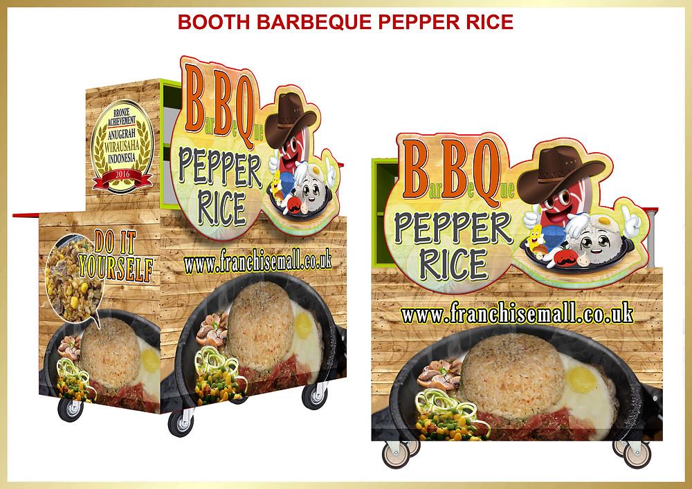 Peluang Bisnis Makanan Kemitraan Franchise BarBeQue Pepper Rice