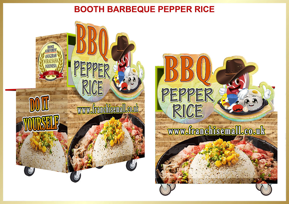Franchise Mall -BarBeQue Pepper Rice