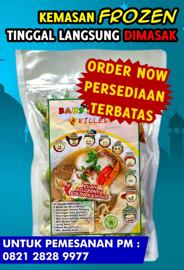 Bakso Aci Killer Frozen Pack
