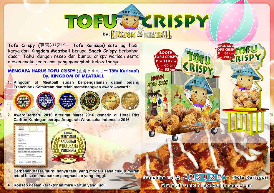 Franchise Snack Tahu Crispy