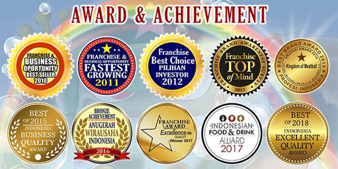 Logo Award Bakso Kaget