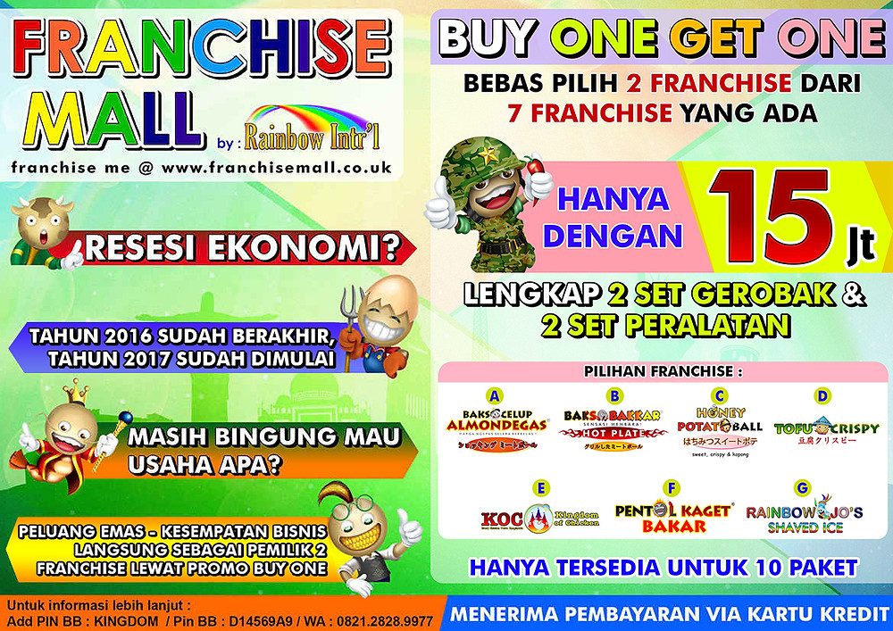Peluang Bisnis Franchise Mall - Kingdom of Meatball