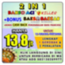 Promo Franchise Bakso Aci Killer
