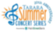 Tarara Summer Concert Series Logo with M