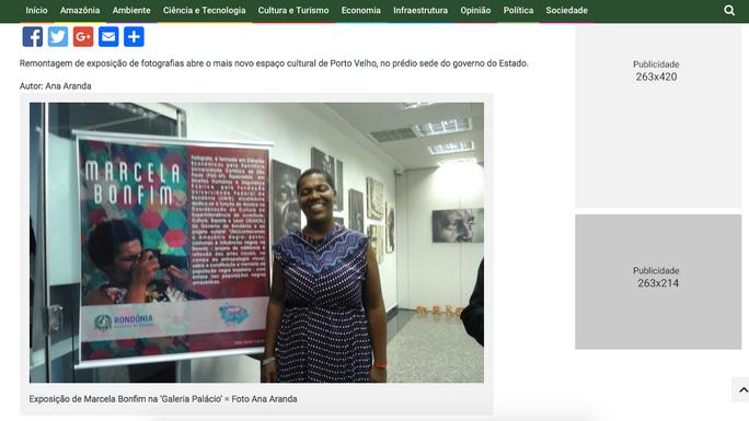 Mostra fotográfica '(Re)Conhecendo a Amazônia Negra', de Marcela Bonfim, reabre no Palácio Rio Madei