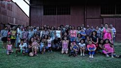 Encontro das famílias barbadianas
