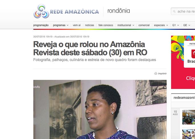 Reveja o que rolou no Amazônia Revista deste sábado (30) em RO