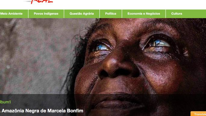 A Amazônia Negra de Marcela Bonfim
