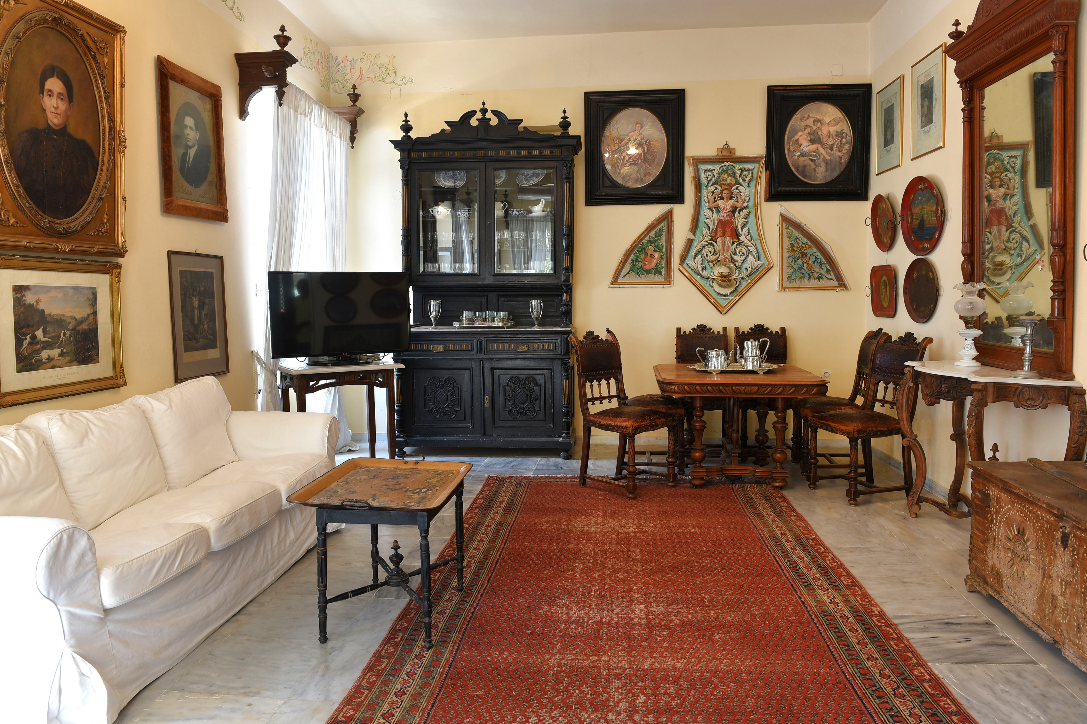 Living Room at Evangelini