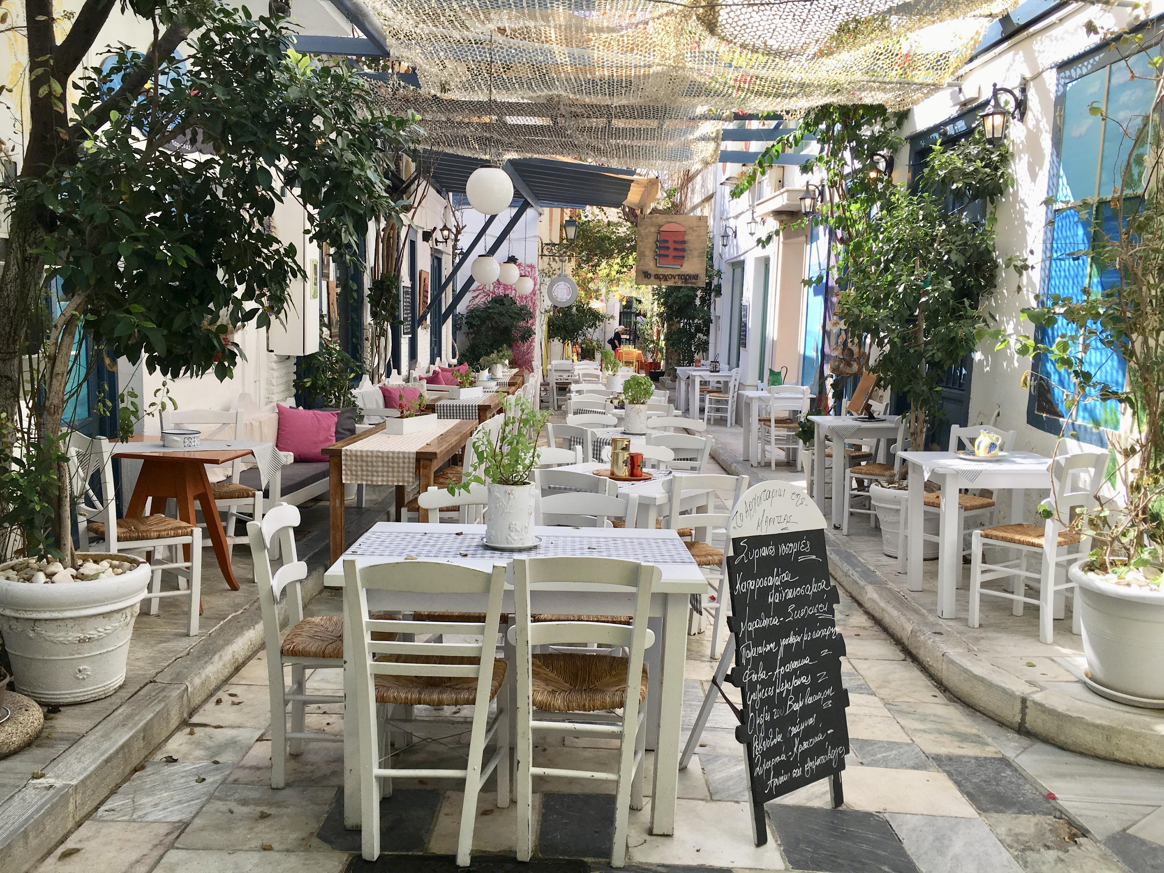 Taverna in Ermoupoli