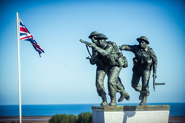 D-Day Soldiers - David Williams-Ellis Sculpture