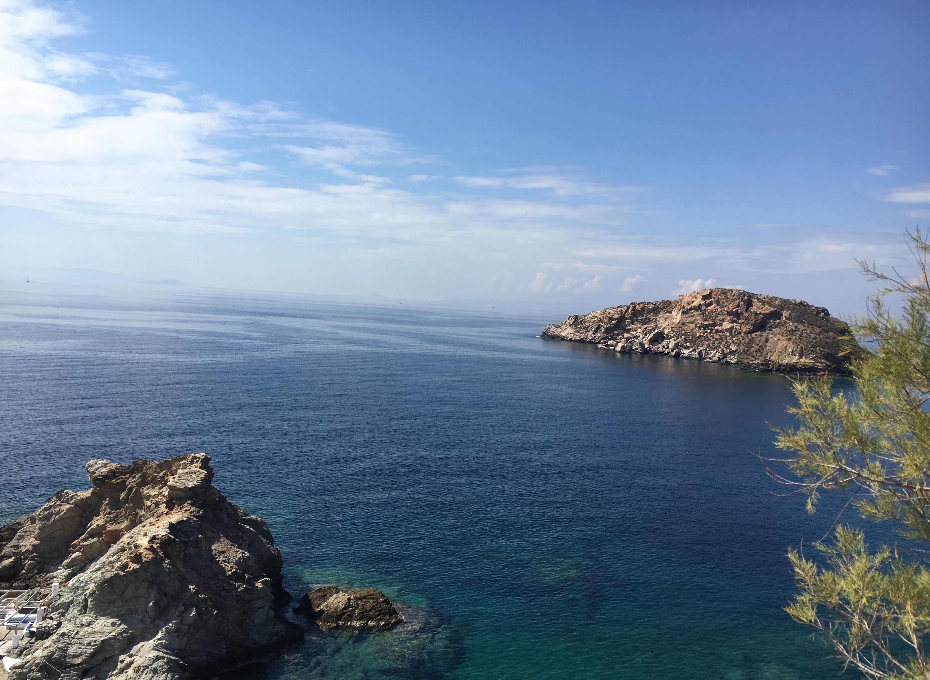 A beach near Poseidonia