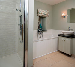 Shower Cubicle and bath