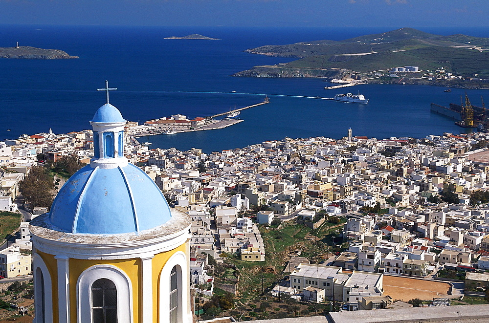 The view from Ana Syros