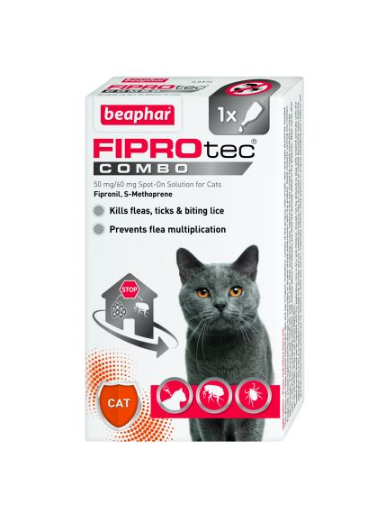 Beaphar FIPROtec® Combo Spot-On for Cats Price From