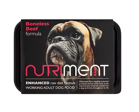 Nutriment Raw Food Boneless Beef 500g, 1.4kg. Price From