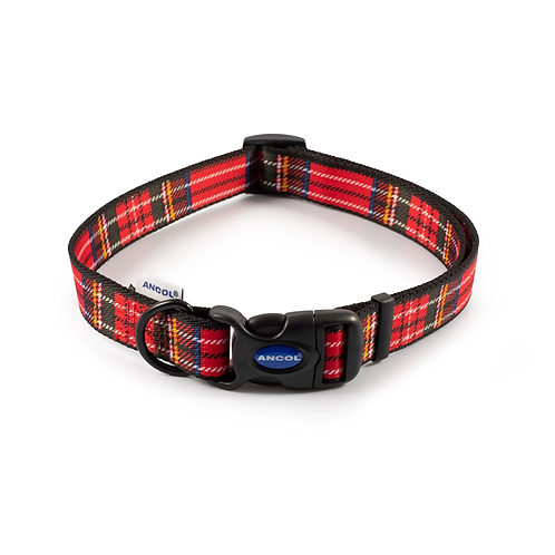 RED TARTAN COLLAR. Price from