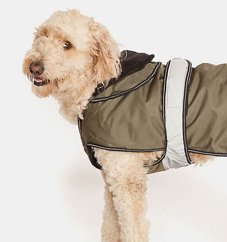 The Ultimate 2 in 1 Dog Coat Khaki. Price from