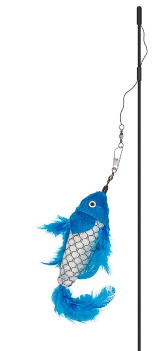 Magic Wand Catfish Teaser Cat Toy