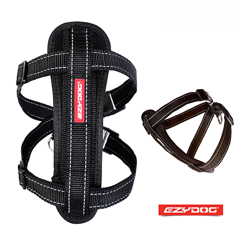 EzyDog Chest Plate Harness Black. Price from