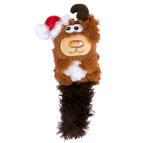 Kong Holiday Kickeroo Reindeer Cat Toy