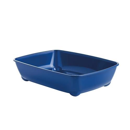 42cm Cat Litter Tray. Grey, Blue.