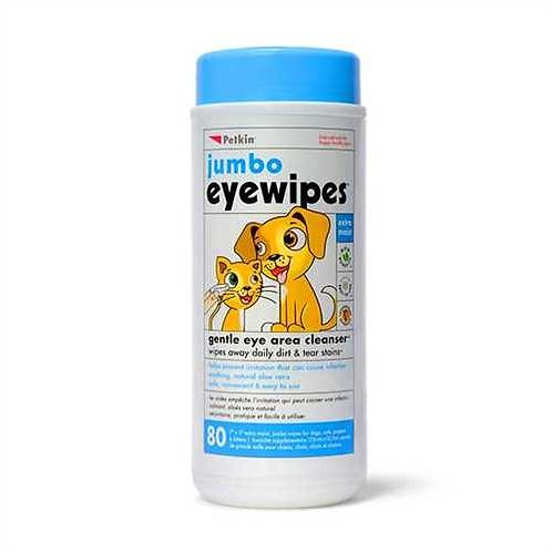 Petkin Jumbo Eye Wipes 80 wipes