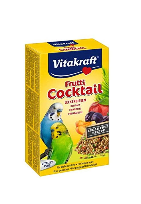 Vitakraft Budgie Fruit Cocktail. 200g
