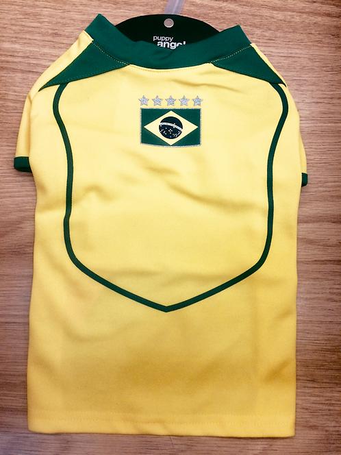 Puppy Angel Brazil Football Shirt for Dogs
