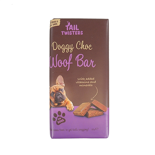 Woof Choc Bar For Dogs 100G