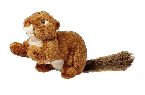 Fluff & Tuff Red Squirrel. Squeakerless.