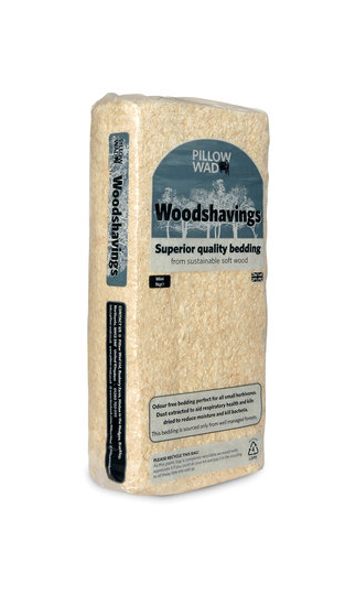 Pillow Wad Woodshavings. 1kg, 3.6kg. Price from