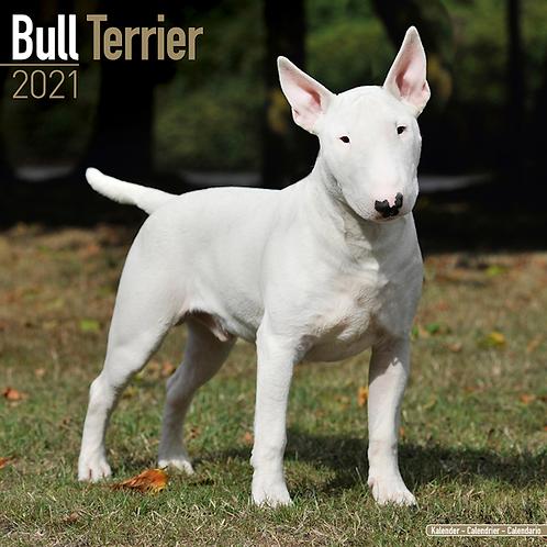 2021 Bull Terrier Calendar