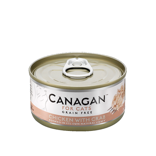CANAGAN CHICKEN WITH CRAB FOR ALL LIFESTAGES 75g