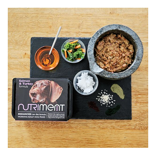 Nutriment Raw Food Salmon & Turkey 500g, 1.4kg. Price From