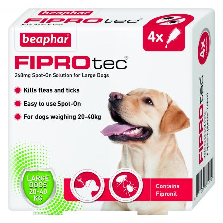 Beaphar FIPROtec® Spot-On for Large Dogs Price From