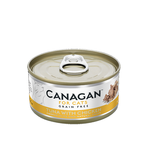 CANAGAN TUNA WITH CHICKEN FOR ALL LIFESTAGES 75g