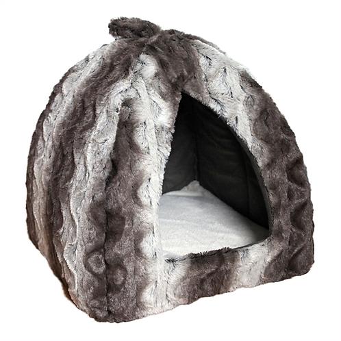 40 Winks Grey & Cream Snuggle Pyramid