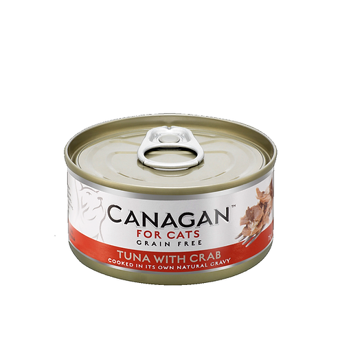 Canagan Cat Tuna With Crab For All Lifestages 75g