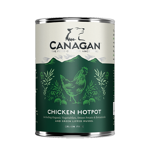 Canagan Chicken Hotpot 400g for adult dogs