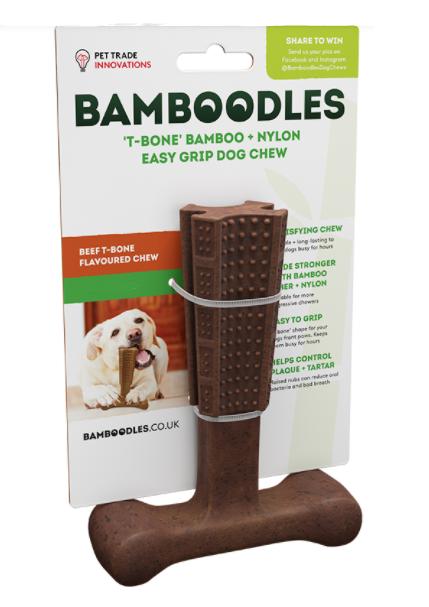 Bamboodles T-Bone Chew Beef