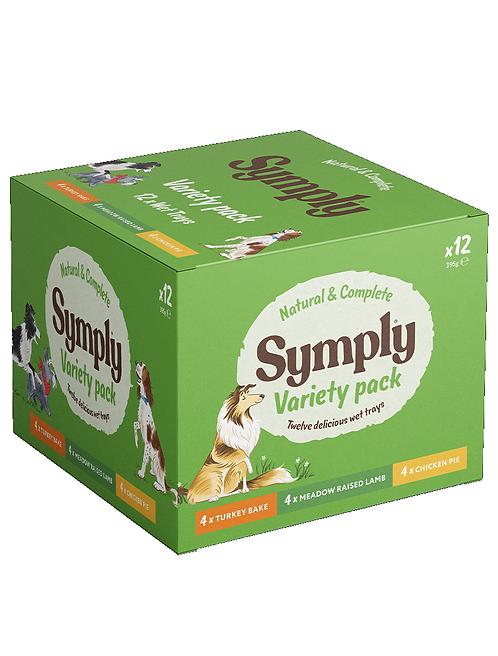 Symply Variety pack. 12 x 395g
