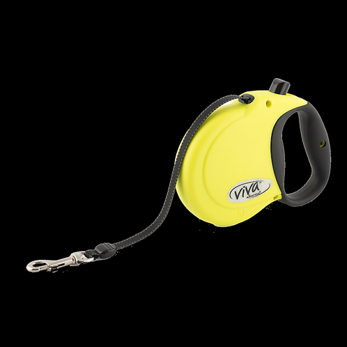 Viva Retractable Lead Hi-Vis. 5m Small, Medium. Price from