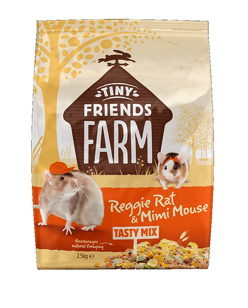 Reggie Rat & Mimi Mouse Tasty Mix 850g