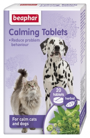 Calming Tablets for Cats & Dogs. 20tabs