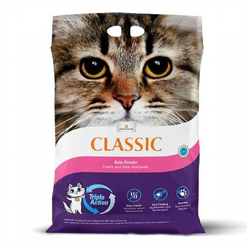 Intersand Classic Cat Litter Baby Powder Scent 7kg, 14kg. Price from