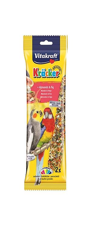 Vitakraft Cockatiel Kräcker Almond & Fig. Twin Pack